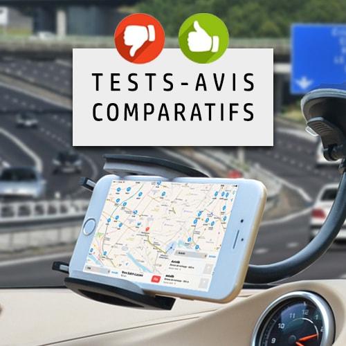 Guide d'achat 2018 : Choisir son support voiture (téléphone, tablette, GPS)