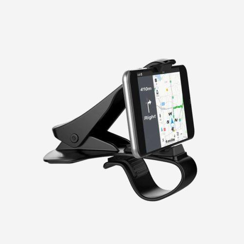 Support GPS pour tableau de bord de voiture.