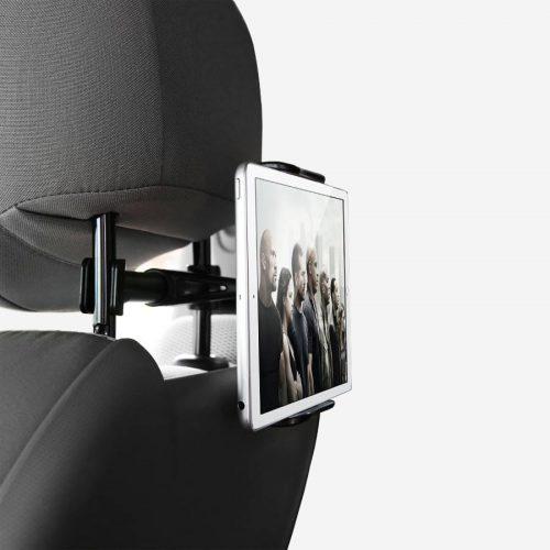 Support tablette pour siège de voiture.